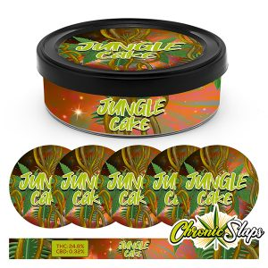 JUNGLE CAKE PRESSITIN STRAIN LABELS