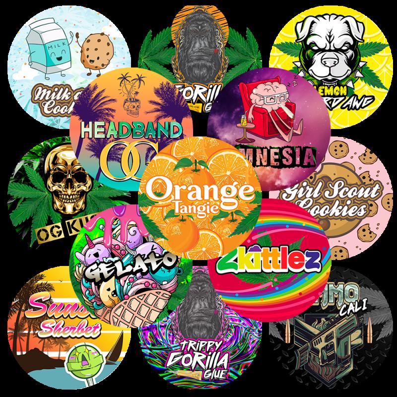 custom cali stickers