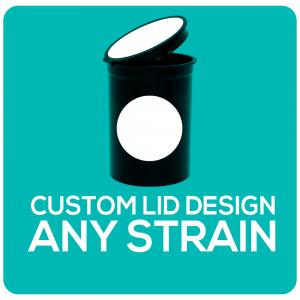 custom pop top label design