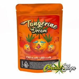 Tangerine Dream Mylar Bags