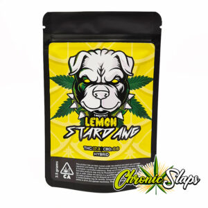 Lemon Stardawg Mylar Bags