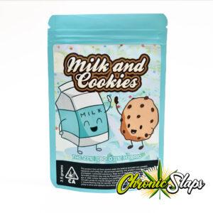 Milk & Cookies Mylar Bags