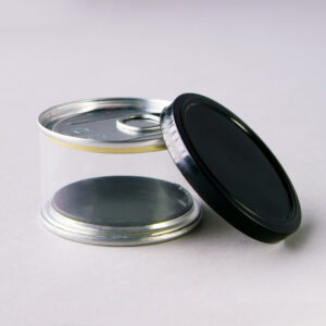 CLEAR PRESS IN CAN WITH LID
